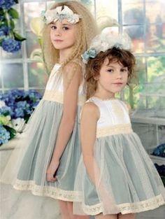 vestidos niña tul   Para las niñas sin embargo predominan los vestidos. No sé que ...