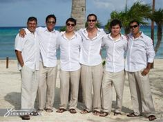 Linen White Shirts, Linen khaki pants For the guys??