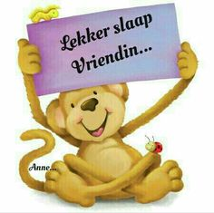 Good Night Sleep Tight, Afrikaanse Quotes, Goeie Nag, Winnie The Pooh, Disney Characters, Fictional Characters, Cards, Beautiful, Text Posts