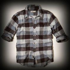 ホリスター メンズ シャツ  Hollister Broad Beach Classic Fit Flannel Shirt シャツ ★モデルや芸能人も愛用の人気ブランドホリスターの新作。アメカジ・サーフブランドのファッションが好きな方におすすめのブランドです! ★シャツは1枚で着るだけでお洒落になります!カジュアルなチェック柄がポイントです!