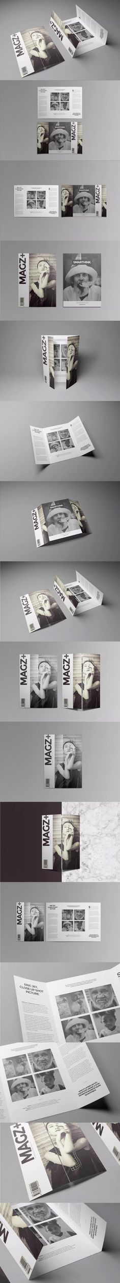 X  Gate Fold Brochure Mockup Download Here Http