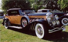 "Duesenberg Model J ~ Miks' Pics ""Era Automobiles l"" board @ http://www.pinterest.com/msmgish/era-automobiles-l/"