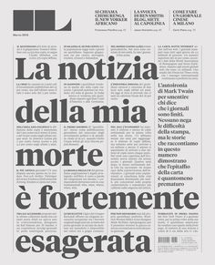 Editorial Design / Francesco Franchi – Editorial