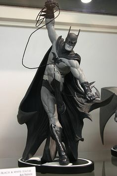 One day I WILL own all of the Batman Black an White statues.... #Batman #BlackandWhite #Collectibles