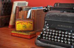 my old typewriter (vintage)
