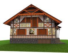 Landscape Design, Facade, My Design, Traditional, Architecture, House Styles, Home Decor, Arquitetura, Decoration Home