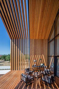 Дом португальского архитектора Филипе Сараивы в городе Орен | AD Magazine