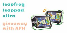 Giveaway with APH - Win a LeapFrog Leappad ultra