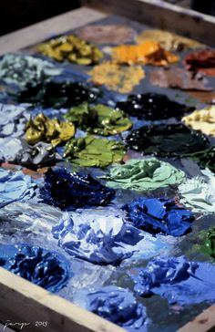 "darksilenceinsuburbia:  JARP (Mongoooose)   http://mongoooose.tumblr.com/tagged/jarp/ - ""Colors"" 2006, digitized slide"