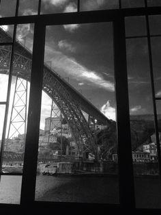 Through that window . @ Porto (Photo by IPP) My Photo Gallery, Photo Galleries, George Washington Bridge, My Photos, Window, Travel, Porto, Viajes, Windows