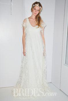 Delphine Manivet Wedding Dresses Fall 2014 Bridal Runway Shows   Wedding Dresses Style   Brides.com