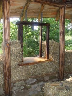 in search of the kiwi: roundhouse straw bale walling