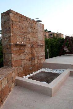 Kallimarmaron Bolari | Quarrying & Manufacturing | Terra Coral Outdoors Shower