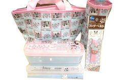 Japanese Lunch Bento Box Set Disney Mickey Mouse Cutie Kawaii 6 Items | eBay