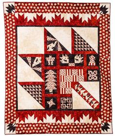Pattern Feature – Purely Canadian Quilt features blocks representing each of the provinces and territories and uses Northcott's stonehenge Oh Canada fabric in support of Quilts of Valor