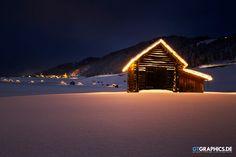 Taken in Gailtal in East Tirol, Austria looking towards Obertilliach. Snowy Pictures, Winter Magic, Winter Wonderland, Wildlife, Cabin, Tirol Austria, Architecture, House Styles, Building