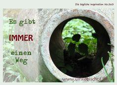 Die tägliche Inspiration No.263  www.inspirationenblog.wordpress.com  www.ulrikebischof.de