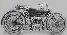 Moto à moteur deux cylindres en V (1906)