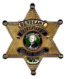 Benton County, WA Sheriff Sergeant badge