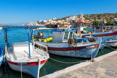 Elounda harbour on Crete, from http://www.greece-travel-secrets.com/Elounda.html