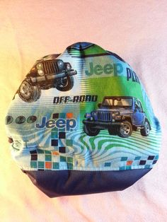 SassyCloth one size pocket diaper with Jeep off-road by SassyCloth