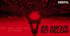 As Above, So Below -- A thriller centered on two archaeologists in search of ... (2014) Still of Perdita Weeks and Ben Feldman in As Above, So Below (2014).