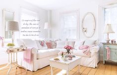 Here are the photos of my home in the European magazine, Shabby Style. www.vintagerosecollection.com