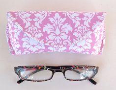 Eyeglass Case or Sunglass Case Magnetic Closure by nangatesdesigns
