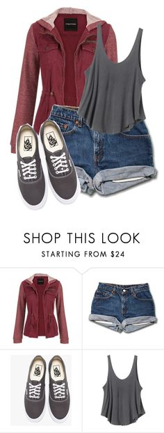 """Untitled #346"" by ticci-toby ❤ liked on Polyvore featuring maurices, Vans and RVCA"