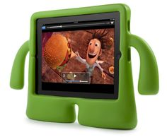 iGuy is the perfect iPad mini accessory for kids and grownups alike. He's lightweight, easy to hold, and he can stand on his own two feet, even while holding up your iPad mini. He may look like he's all about fun. Ipad 1, Ipad Case, Coque Ipad Mini, Ipad Mini Accessories, Tech Accessories, Cadeau High Tech, Accessoires Ipad, Toddler Proofing, Ipad Holder