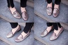 glitter loafers....yes please