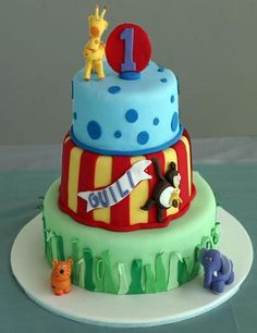 Cake from a Circus Party #circus #party