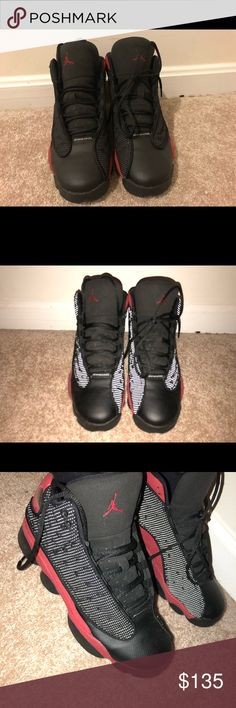 9ce1fbdc2a801a Air Jordan retro 13 s Bred 13 s size 7 worn 3x 9 10 condition comes with