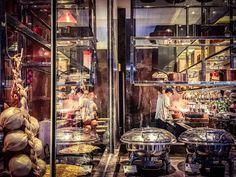 Nice open #kitchen #buffet line...