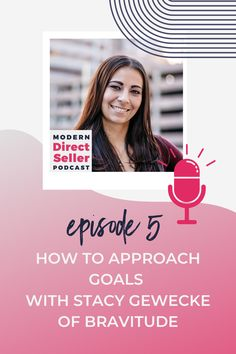 Stacy Gewecke, of Bravitude, shared an inspiring guest masterclass on goal setting within the Modern Direct Seller Academy. Following the Masterclass, she joined us on the podcast to share insights around goal setting, leadership in direct sales and how to approach goals with your team. Listen in and learn from Stacy!