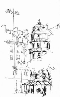Bajzek_Paris_Mountparnasse Sketch