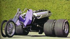 The Monster Cycle is powered by a cubic-inch, / aircraft engine. Custom Trikes, Custom Choppers, Custom Harleys, Custom Motorcycles, Triumph Motorcycles, Triumph Chopper, Trike Motorcycle, Motorcycle Style, Motorcycle Accessories