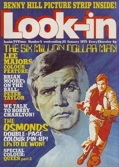 Look-in magazine covers - Retronaut