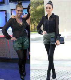 Leather shorts!