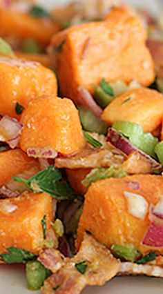 Sweet Potato Salad with Bacon