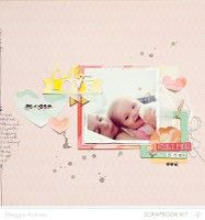 Hello Love by MaggieHolmes from our Scrapbooking Gallery originally submitted 06/16/13 at 03:34 AM