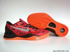 Nike Kobe 8 System Challenge Red/Reflective Silver-Team Orange-Electro Orange 2013