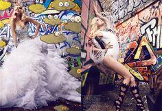 Raquel Zimmerman by Mario Testino Vogue France