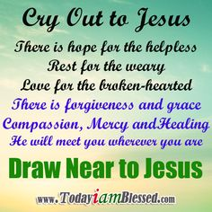 JESUS IS MY SAVIOR.