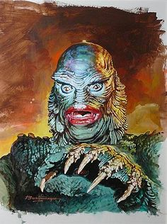 The Creature From the Black Lagoon -Basil Gogos