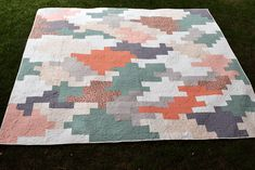 Tumbling Bricks King Size Quilt