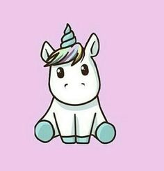 cute, unicorn