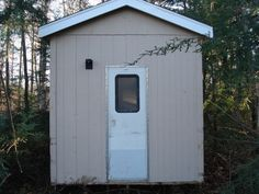 How To Build A Modern Outhouse On A Budget