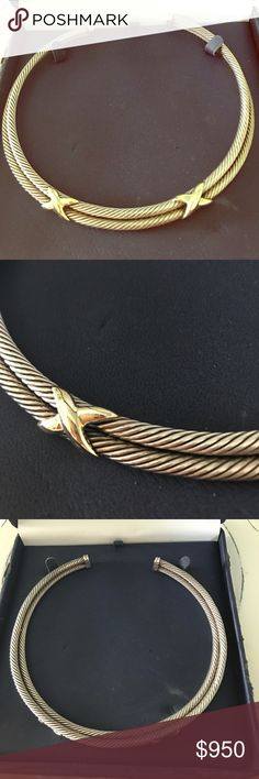 💥SALE💥 AUTHENTIC David Yurman collar necklace Only worn a handful of times, excellent condition! FREE GIFT WITH PURCHASE 🎉🎉🎉 David Yurman Jewelry Necklaces