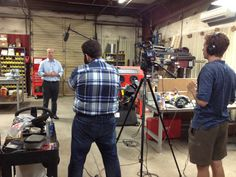 """Part 2 - Brandware was on-site this week at @Okabashi Shoes for a video shoot with """"This Built America."""""""